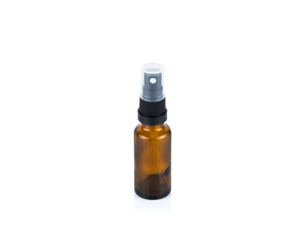 Glass bottle spray top 25ml