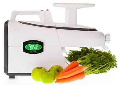 Green Star Elite Juicer design
