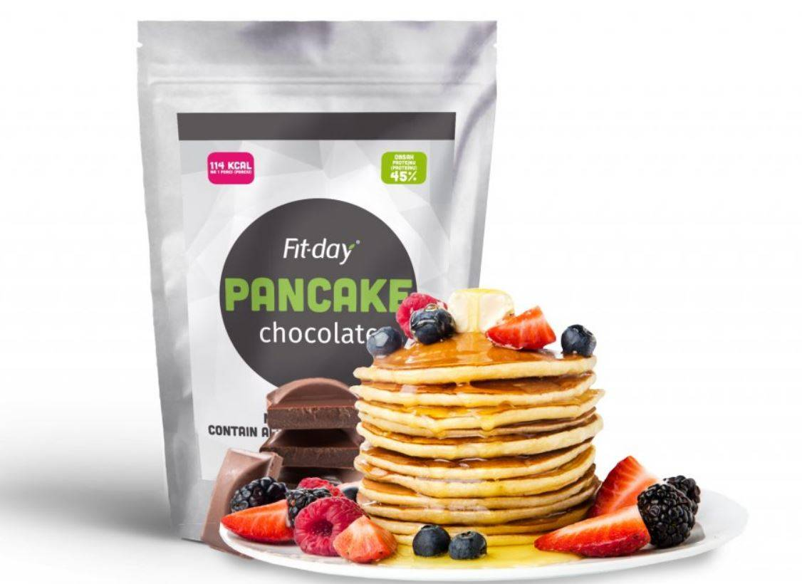 Fit-day chocolate pancake 90g 1