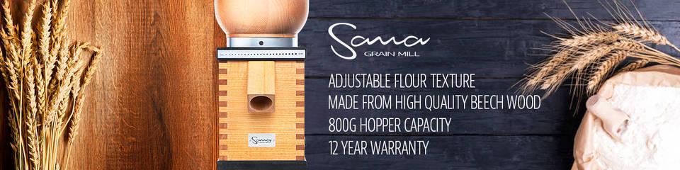 Sana Grain Mill Banner