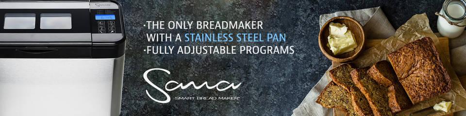 Sana Smart Bread Maker Banner