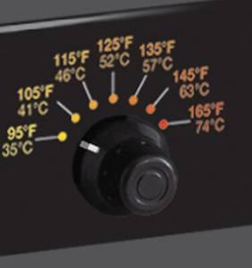Excalibur ECB52B dehydrator controls
