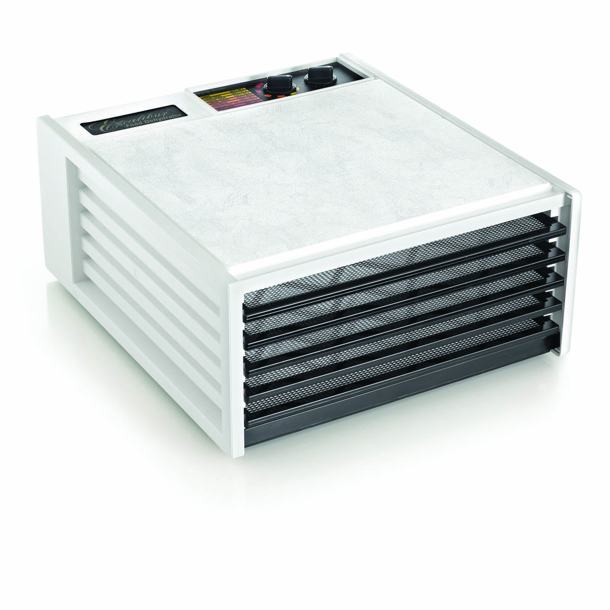 Excalibur food dehydrator 4526T white back view