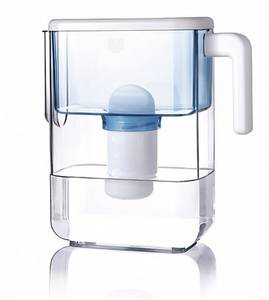 Dewberry SlimLine water pitcher blue