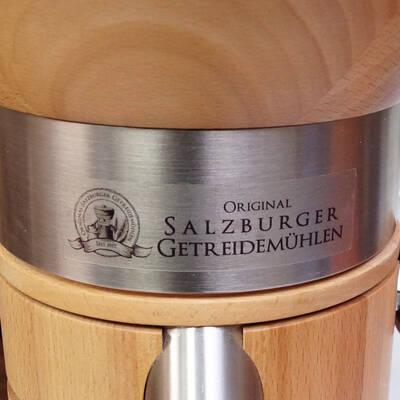 Salzburger Carina Grain Mill label