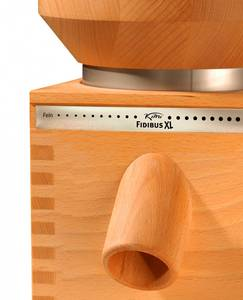 Komo Fidibus XL grain mill profile view