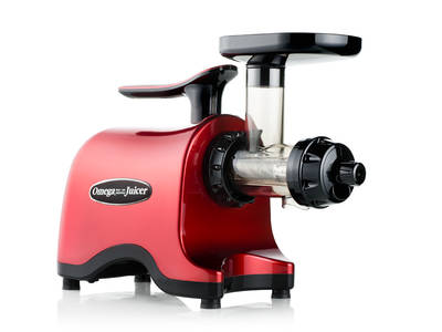 Omega TWN32 twin gear juicer red