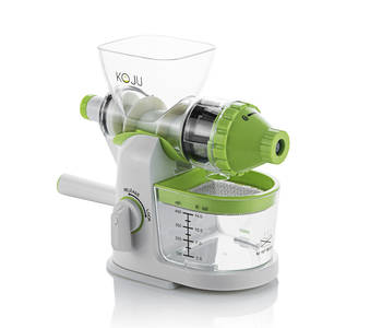 Koju manual juicer white