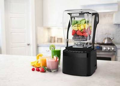 BlendTec Stealth 875 commercial blender black