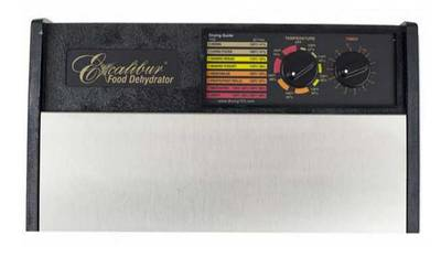 Excalibur dehydrator timer stainless steel